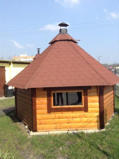 domek grillowy 9,9 m