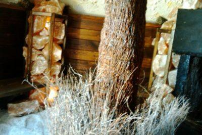 Wnętrze chaty solnej 17 m