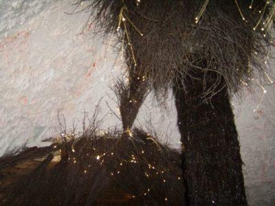 Wnętrze chaty solnej 9m