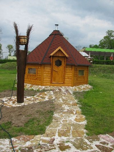 sauna ogrodowa 17 metrów