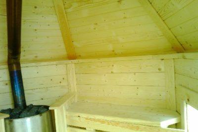 sauna ogrodowa 4,5 m