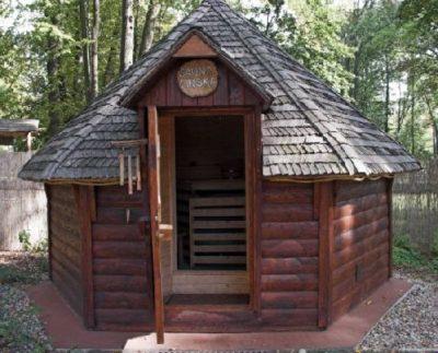 sauna ogrodowa 9m