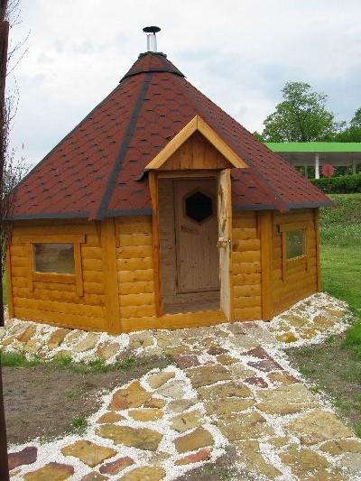 sauna z przedsionkiem 17m