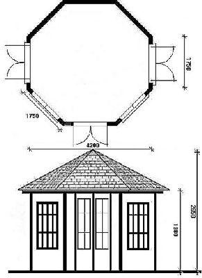 altana ogrodowa całoroczna